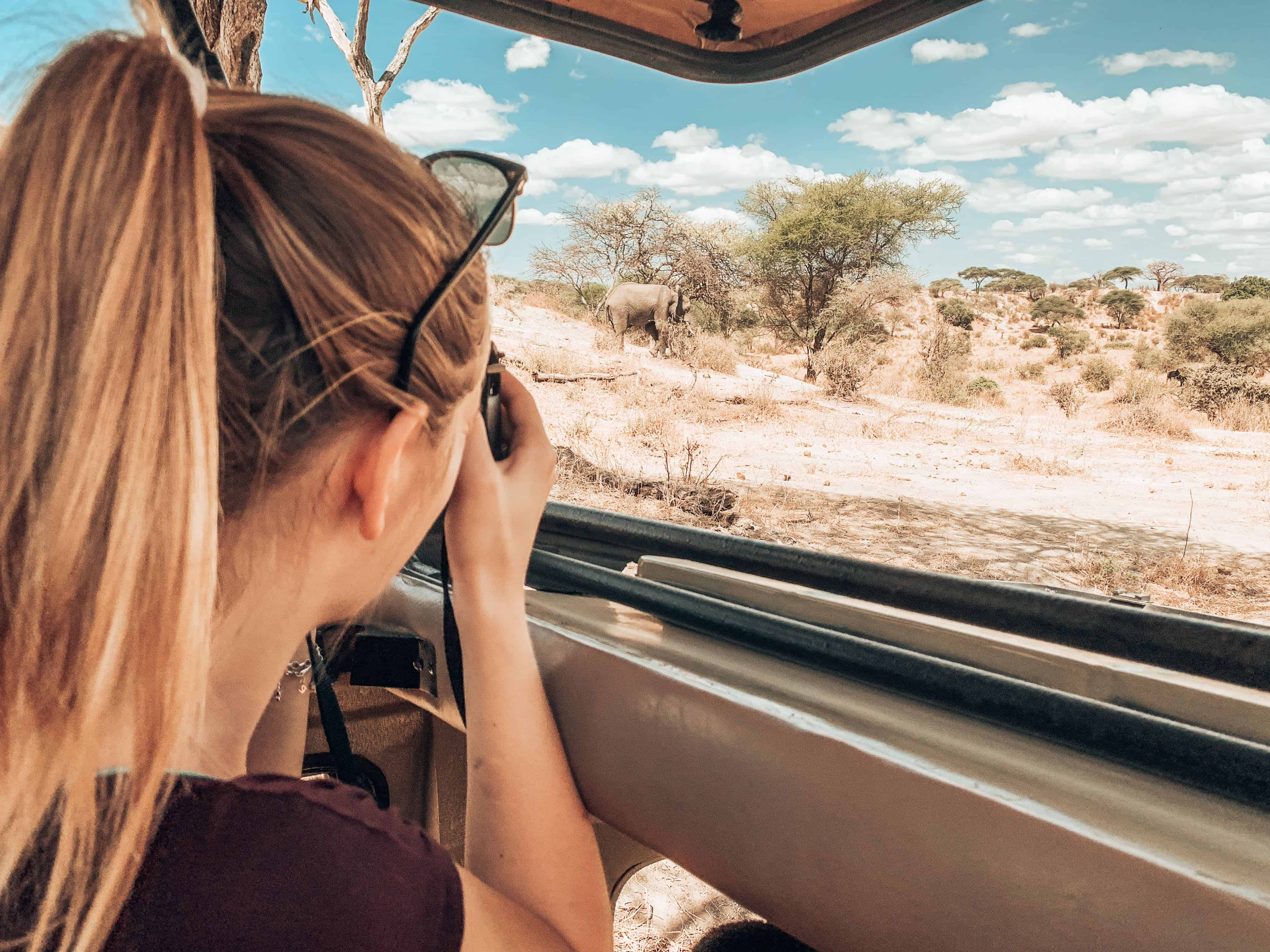 Fernglas Tansania Safari