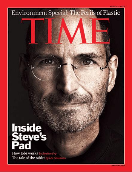 Time Cover Steve Jobs - 2010: Inside Steve's Pad