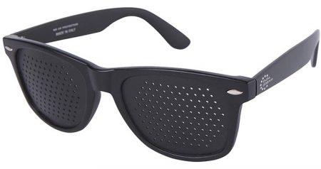 Occhiali stenopeici Classic Gommato Black Dual Dream ®