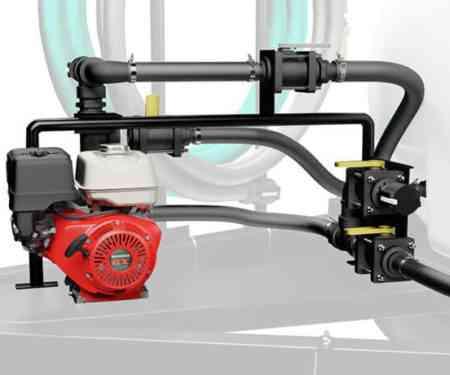500 Gallon Water TrailerSpray Plumbing