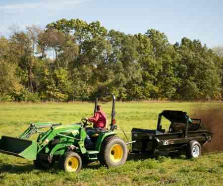 Tractor 85 PTO Manure Spreader Manure Management