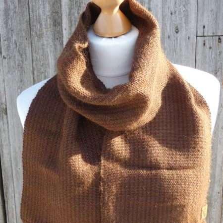 handwoven scarf
