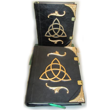 Golden Triquetra Book of Shadows