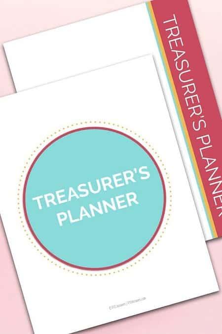 PTO PTA Treasurer's Planner and Organizing Kit