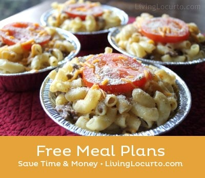 Free Weekly Meal Plans - Free Printable Grocery Lists & Recipes