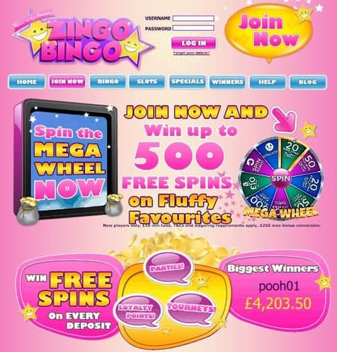 Zingo Casino Free Spins
