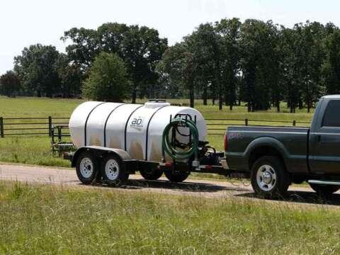 Truck 1000 Gallon D.O.T. Water Trailer