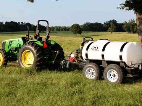 Tractor 500 Gallon Water Trailer