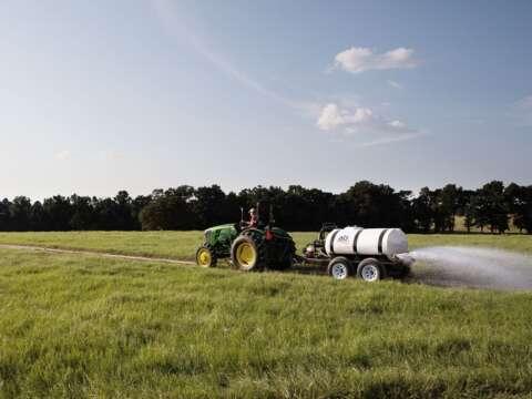 Tractor 500 Gallon Water Trailer Dust Abatement