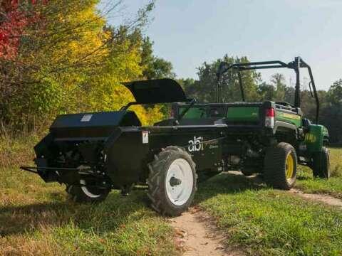ATV/UTV small ground drive manure spreader beater bars