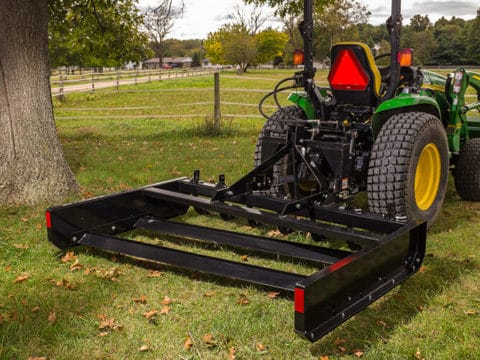 Tractor ABI Land Plane Gravel Grading Rear Attachment