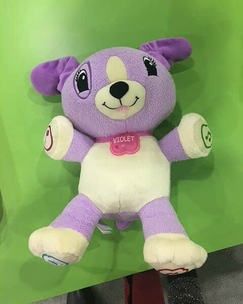 Leapfrog's violet has a buddy named scout