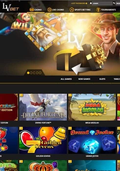 LV Bet Casino Review