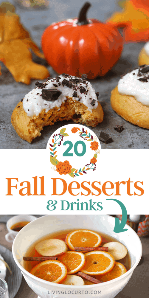 20 Fall Desserts and Drink Recipes