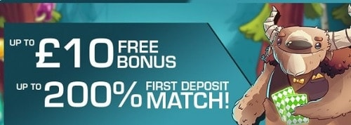 PocketWin Mobile Casino welcome bonus