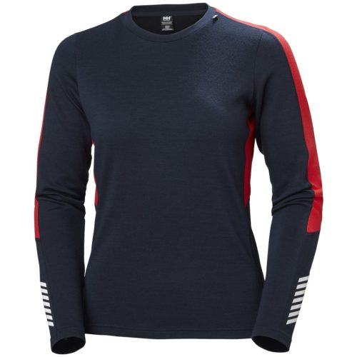 Warm winter clothes start with a base lyer like the merino wool set from helly henson