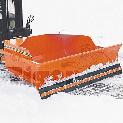 Schneeschierber Staplerschaufeln