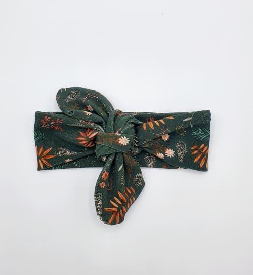 Wrap haarband green jungle