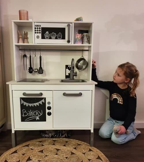 Keuken Sticker magnetron krijtbord