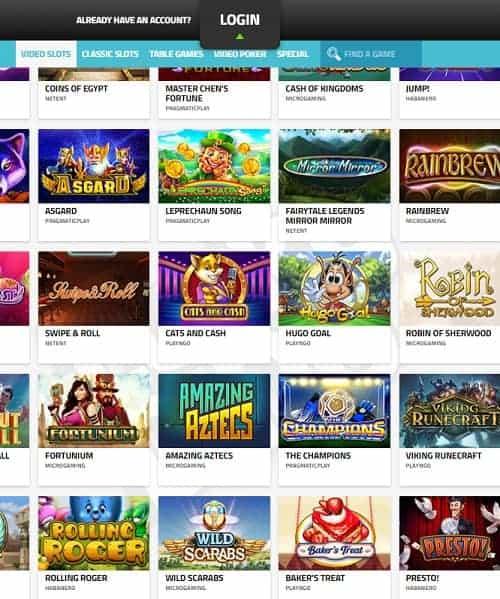 LuckyDino.com Casino Online and Mobile