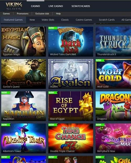 VikingSlots.com Casino Bonus