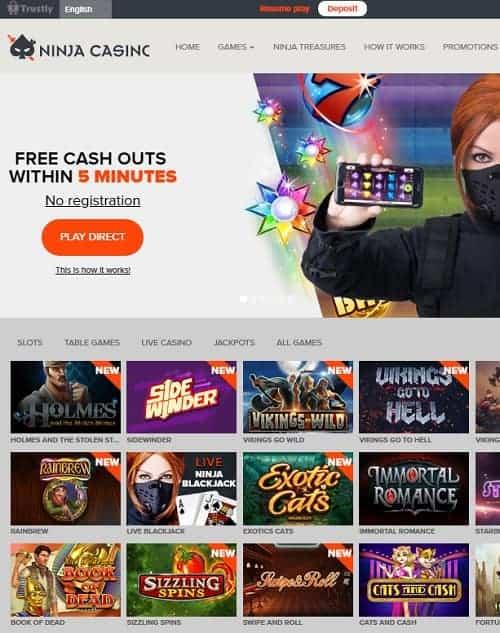 Ninja Casino Review