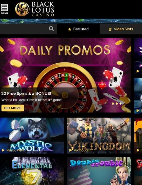 Black Lotus Casino free bonus code