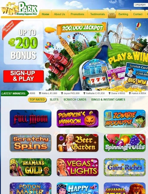 Exclusive Games and Scratch Tickets Online