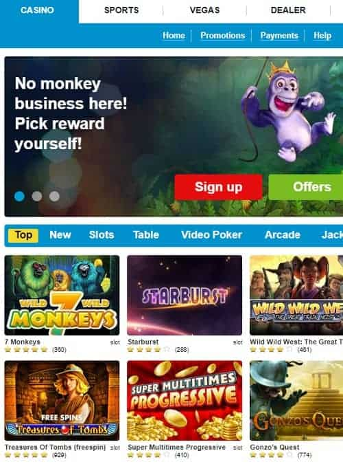 PropaWin Casino Review: 100% welcome bonus + extra free spins