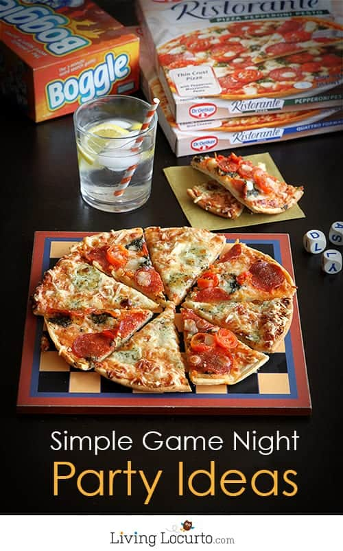 You'll Love These Simple Party Ideas and Free Printables for a Game Night! LivingLocurto.com