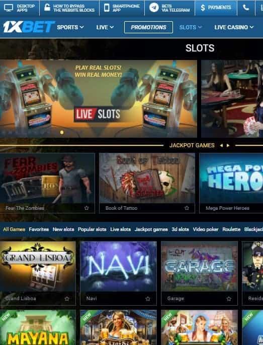 1XBET Casino, Sports, Poker, Live Dealer, Forex, Bitcoin, Slots, Bingo