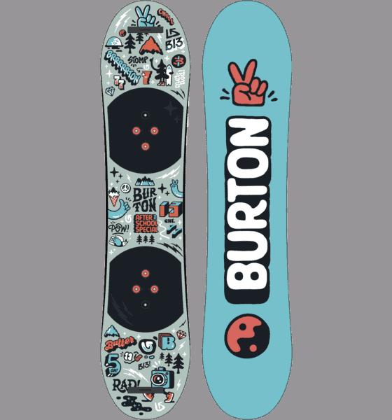 Barnsnowboard från Burton