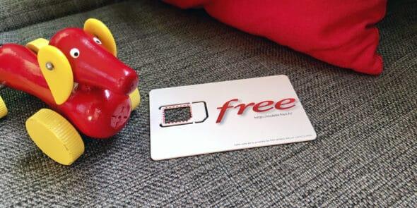 free - Mobiles Internet Frankreich + Europa