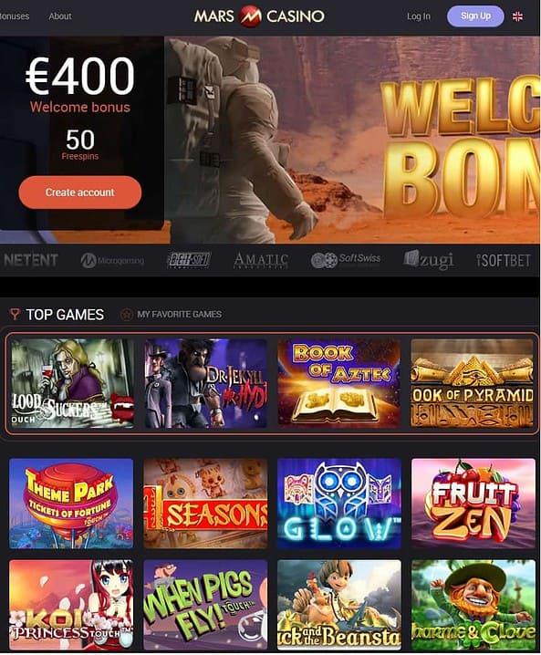 Mars Casino Review