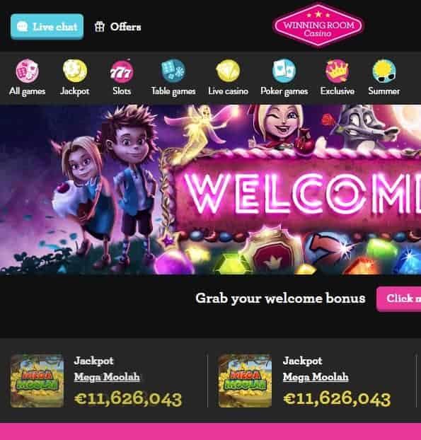 WinningRoom.com Casino
