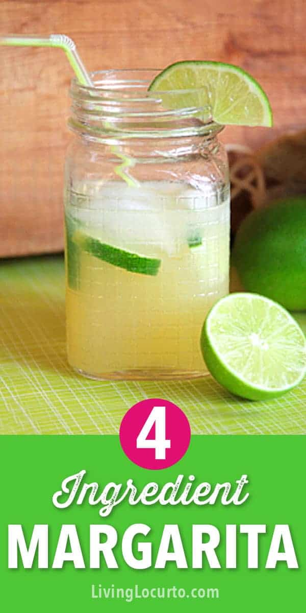 Easy Beer Margarita Recipe! With only 4 ingredients, this tasty Beerita served in mason jars makes your party extra festive and perfect for Cinco De Mayo! #margarita #cincodemayo #drinks