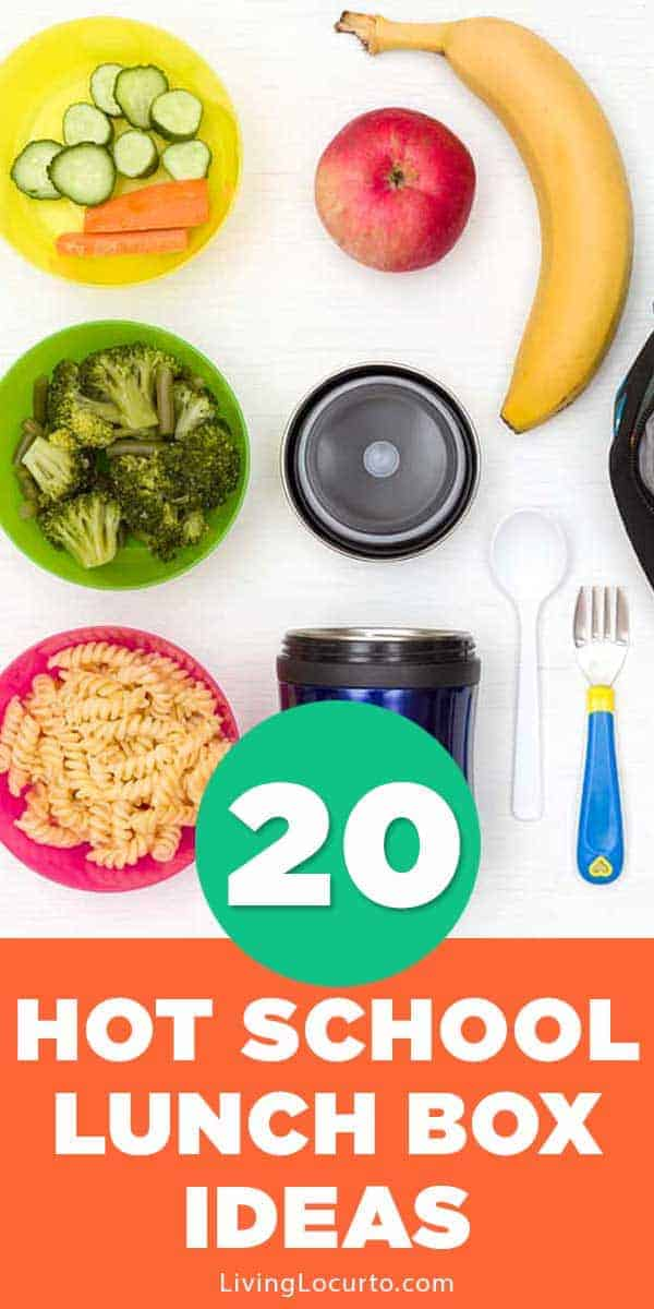 20 Hot School Lunches for Kids