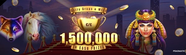 $1,500,.000 Daily Tournament by Pragmatic Play