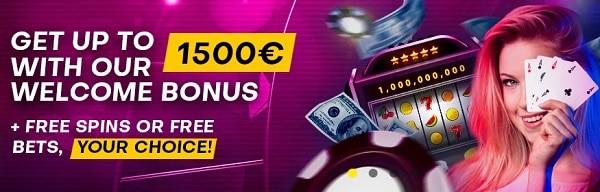 Bettilt Casino 1500€ welcome bonus and 100 free spins