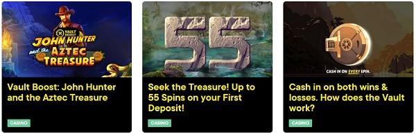 Fortune Legends Casino promotions