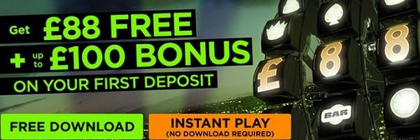 888Casino 88 free bonus no deposit needed