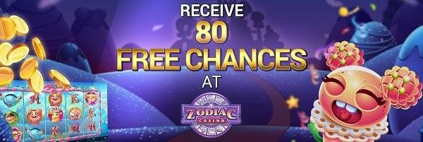 80 gratis spins on jackpot