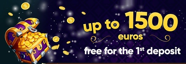1500 EUR welcome bonus