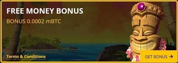Free bitcoin bonus