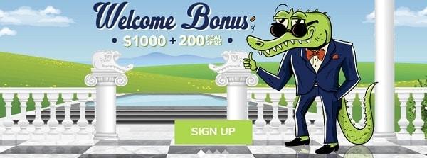 House of Jack Casino $1000 free bonus and 200 free spins
