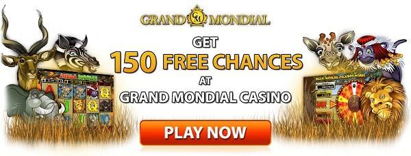 Exclusive Welcome Bonus to Microgaming Casino - Grand Mondial