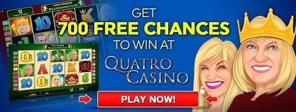 700 free chances on first deposit