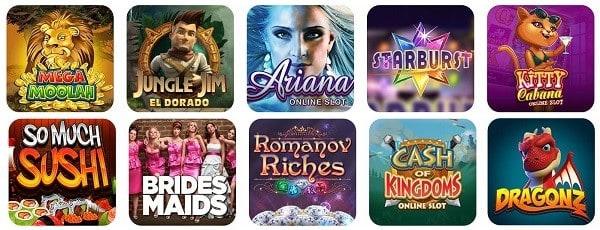 Best Slots, Live Dealer, Video Poker, Jackpots