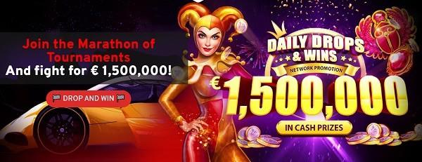 Prize draws and slot freerolls