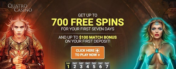 Play 700 free spins on new slots